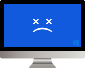 Sad Computer before we fix it